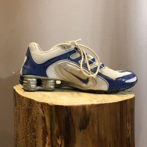 Nike Shox (blue and white)